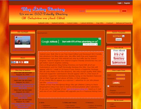 php link directory template archive - list of templates for version4.2, Powerpoint templates