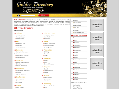 php link directory template archive list of templates for version3 4